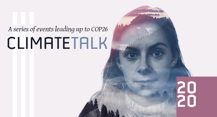 CLIMATETALK - a series of events addressing Climate Change.