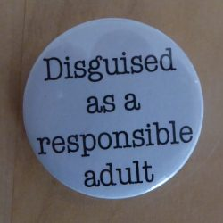 Disguised as a responsible adult