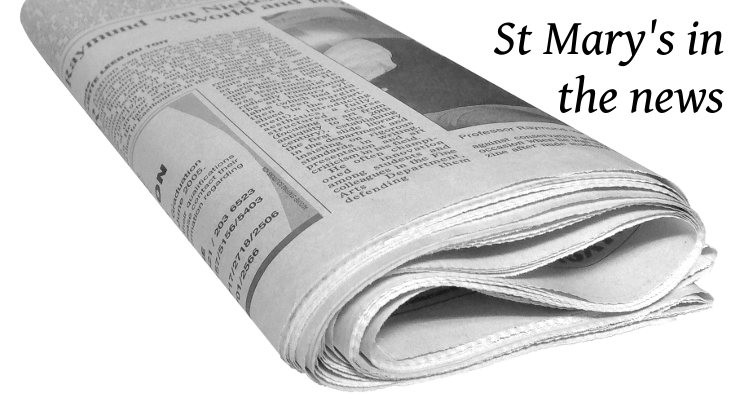 St Mary's in the news - 273525 - 740x400