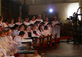 choir and camera