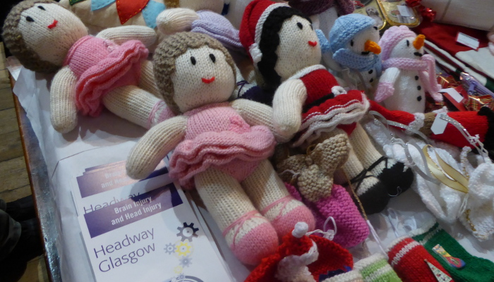 knitted dolls for headway