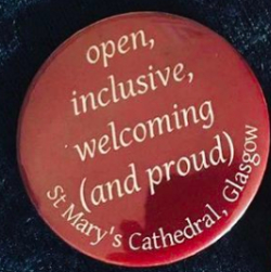 open, inclusive, welcoming and proud