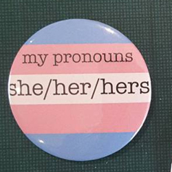 My prounouns - she/her/hers